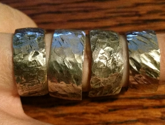 hammered-silver-ring
