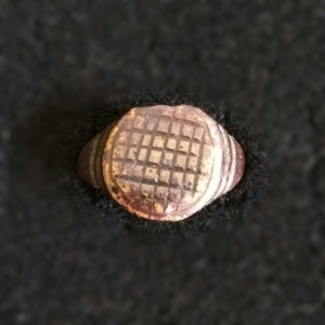 basketweave pattern ring