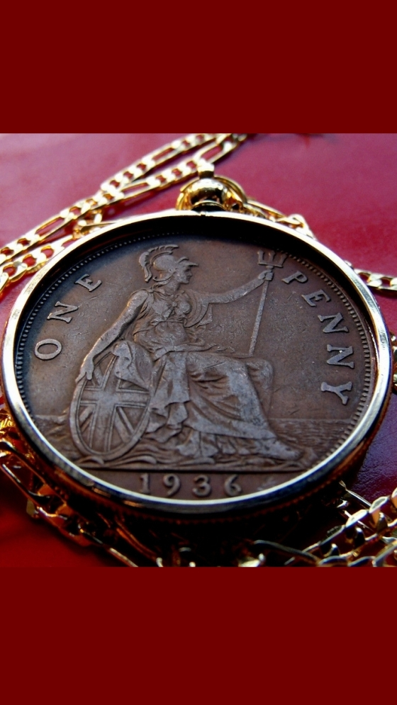 Penny-Necklace-English-coin