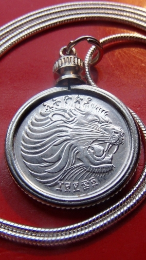 Silver cat jewelry, a lion necklace.