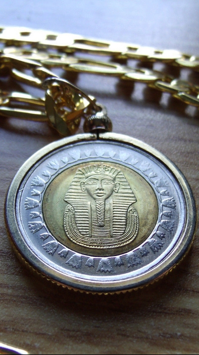 King Tut Necklace For Sale