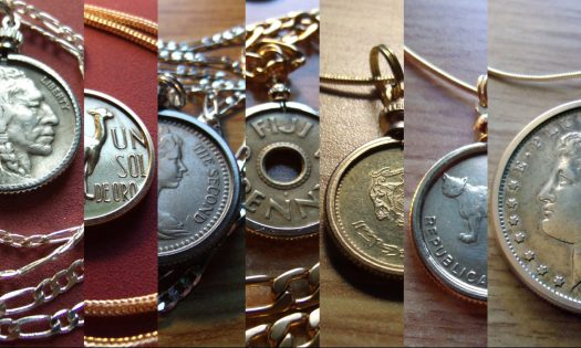 coin pendant necklace jewelry pendant and ring