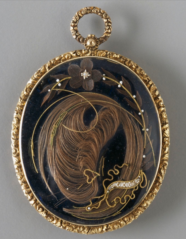 John Wilkinson's Mourning Pendant from the Museum of Applied Arts and Sciences in Ultimo, Australia.