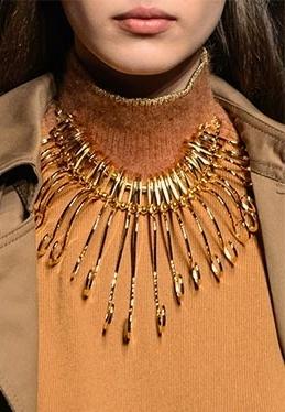 Necklace by Alberta Ferretti.