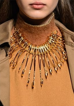 Necklace by Alberta Ferretti.