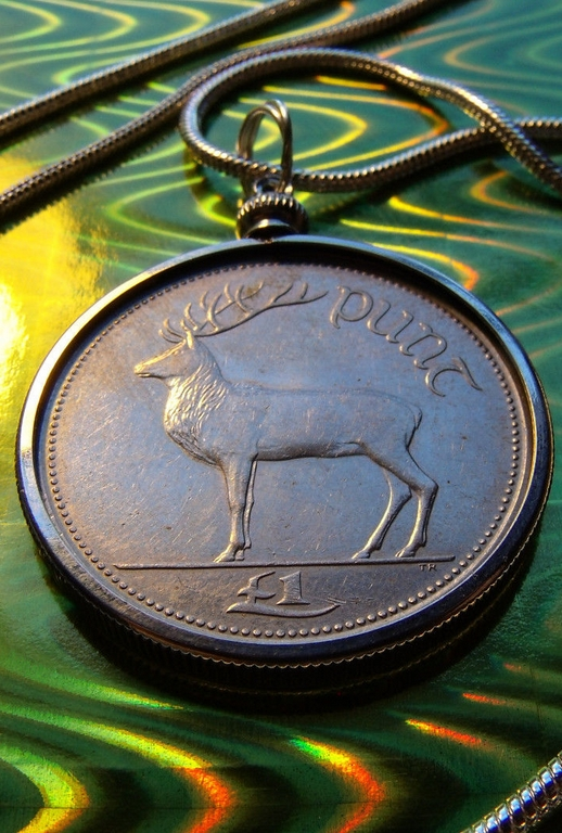 Irish-coin-pendant