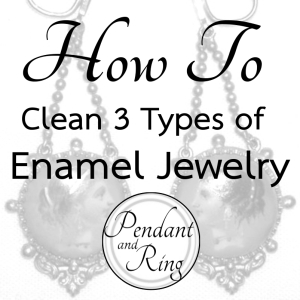 how to enamel jewelry