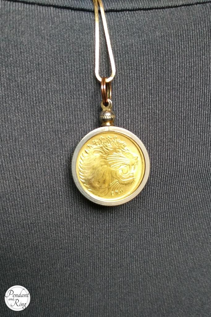 Coin Jewelry, Leo Jewelry, Lion Jewelry