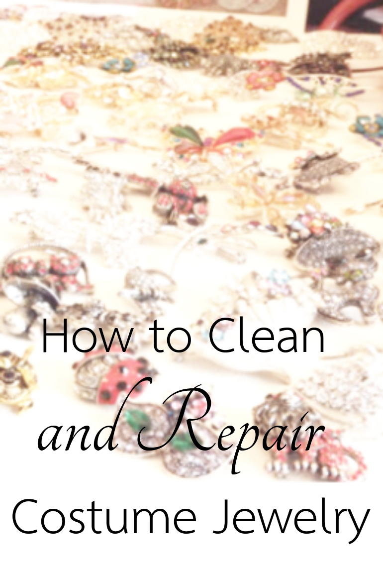 How to Clean and Repair Costume Jewelry