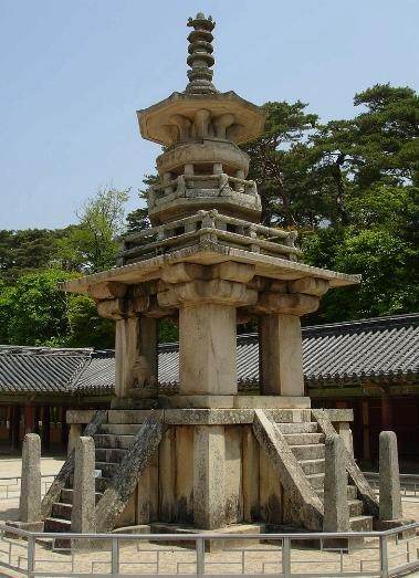 Dabotap Pagoda in Korea