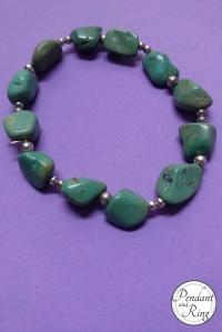 Tumbled Turquoise Bracelet