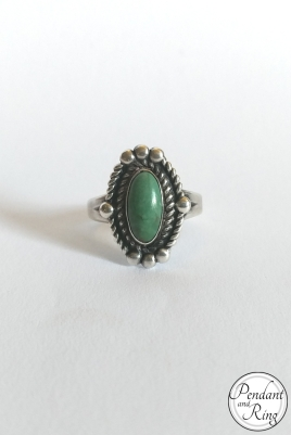 turquoise silver ring 1
