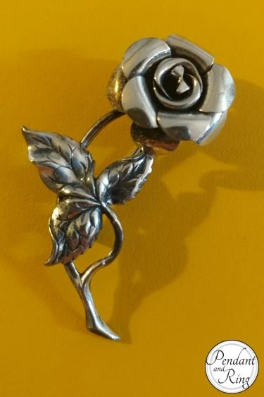 vintage-silver-rose-brooch