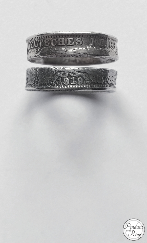 Jewelry, German Coin Ring From 1919