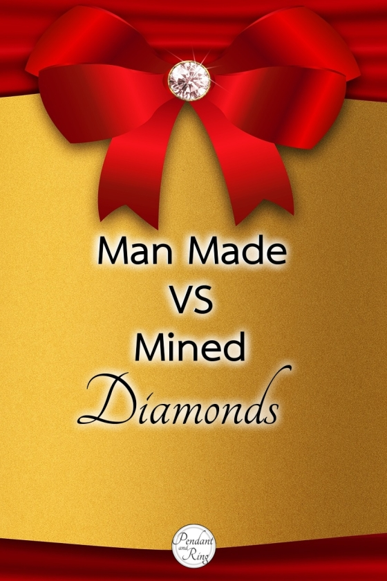 Pin it! Man Made vs Mined Diamonds