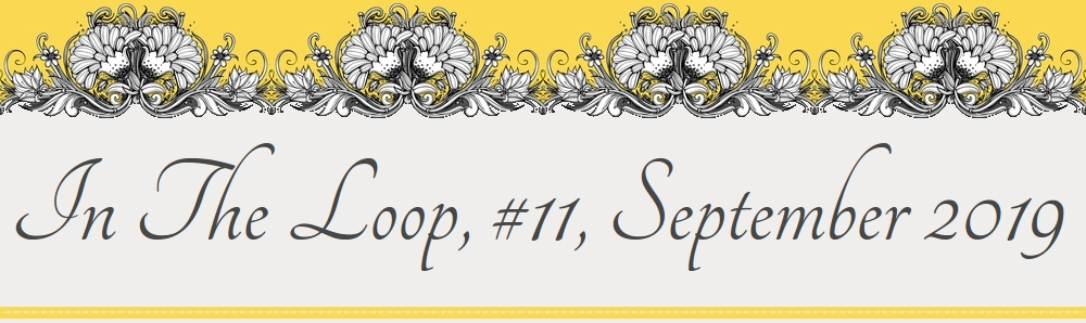 Newsletter Letterhead, In The Loop, #11, September 2019