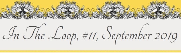 Newsletter Letterhead, In The Loop, #11, September 2019
