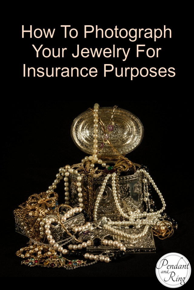 How to Photograph Jewelry for Insurance Purposes