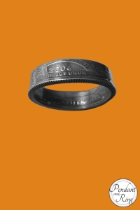 2006 Silver Quarter Ring