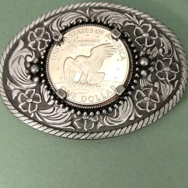 Eisenhower-Coin-Belt-Buckle-1