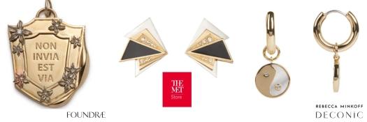 Jewelry Trends Foundrae The Met Rebecca Minkoff Deconic