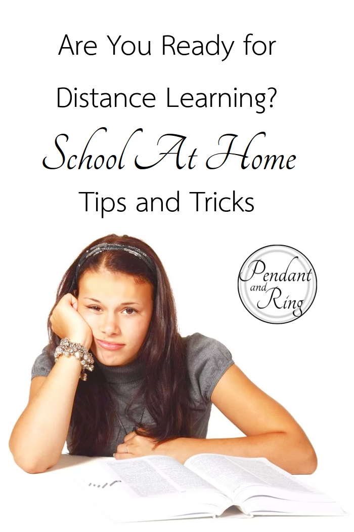 Distance learning tips and tricks
