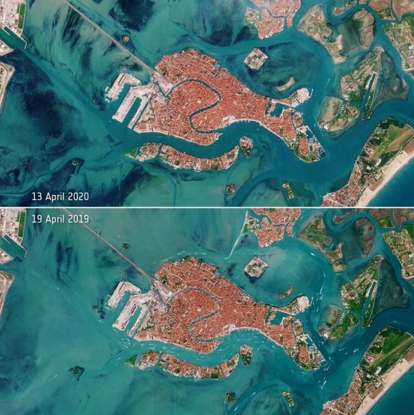 clearer water in venice