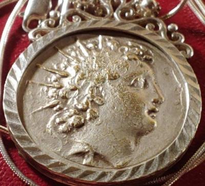Neoclassical Napoleon Necklace