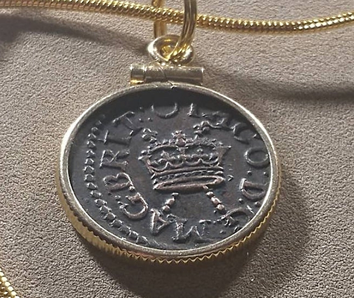 Scottish-Coin-Pendant-Necklace