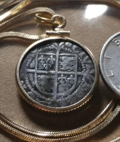 Tudor-Rose-ElizabethI-Coin-Pendant