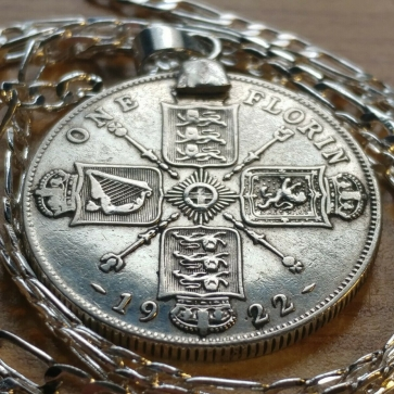 Pendant Necklace 1922 Coin
