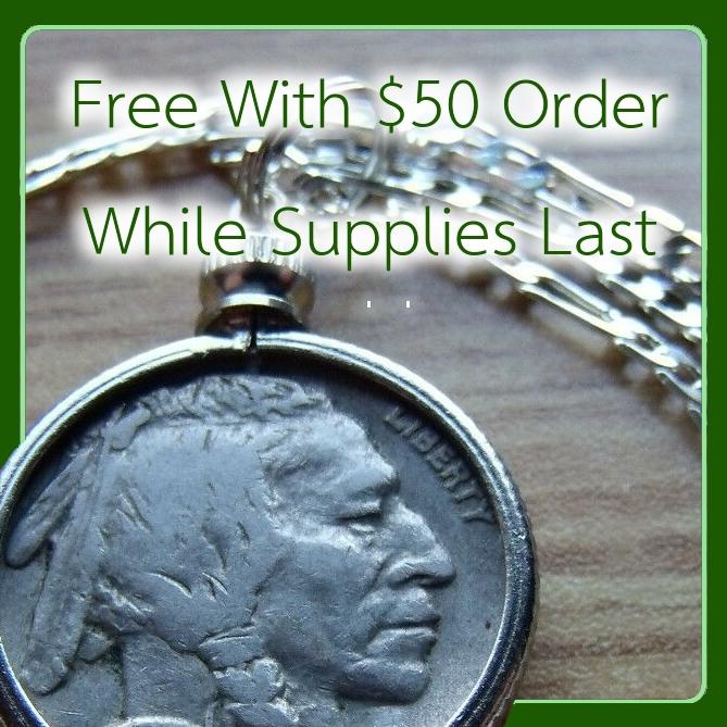 Free Buffalo Nickel Necklace