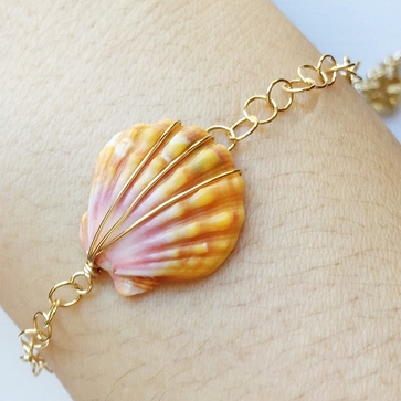Mermaid Sea Shell Bracelet