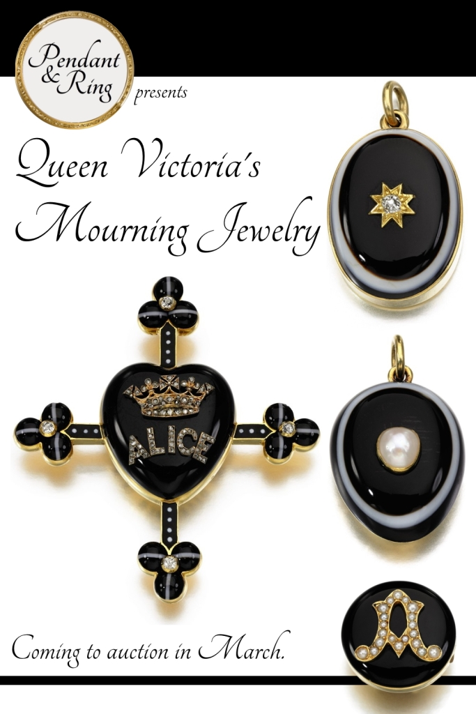 Queen Victoria's mourning jewelry.