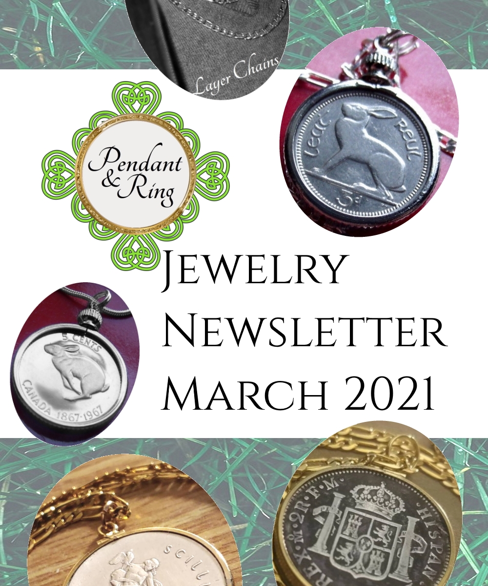 coin pendant jewelry march 2021