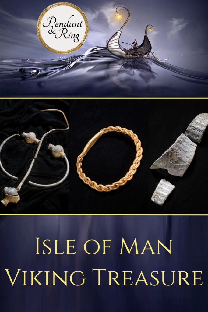 Viking Treasure discovered on the Isle of Man, including Viking Gold!