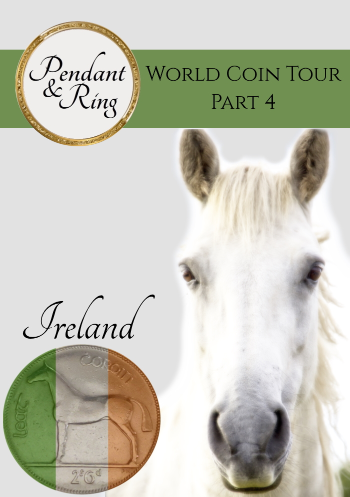 Welcome Back! You are just in time for a new edition of the World Coin Tour, and this time we're are stopping off at the Emerald Isle.