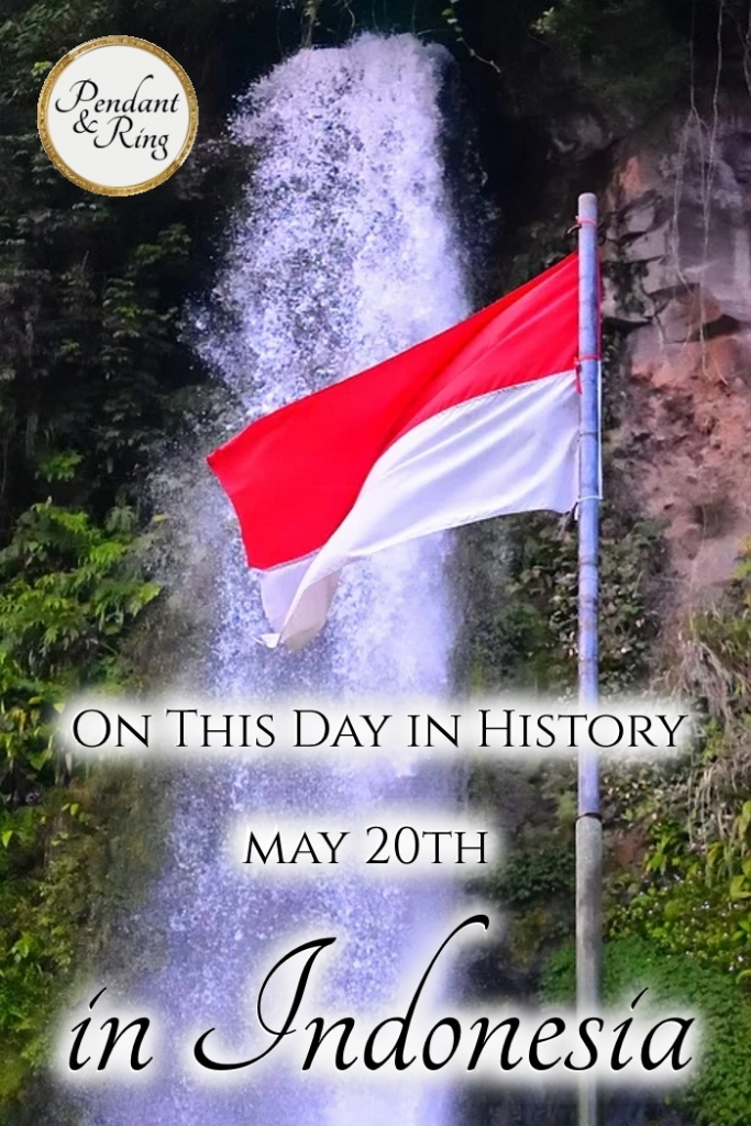 Read this tiny history of Indonesia from colonization to independence, and find out what happened on May 20th so many years ago.