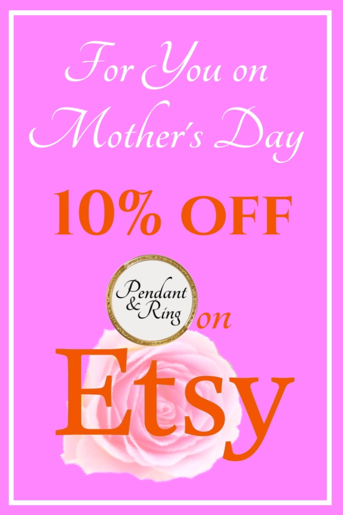 Happy Mother's Day! Take 10% off this week only!