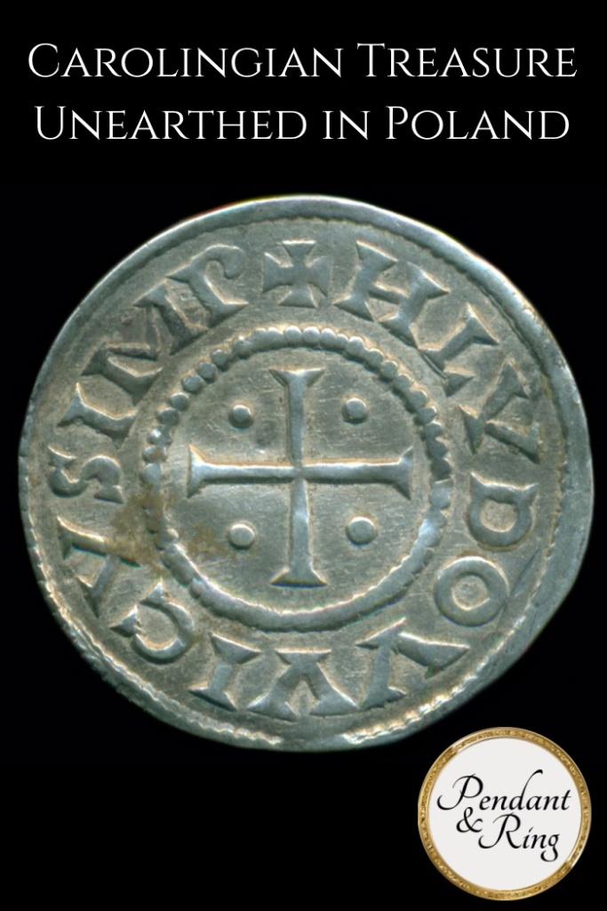 Carolingian, Viking, Treasure, Poland, Frank, Gaul, French, Denier, Louis the Pious, Charles the Bald
