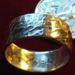 custom-silver-hammered-ring
