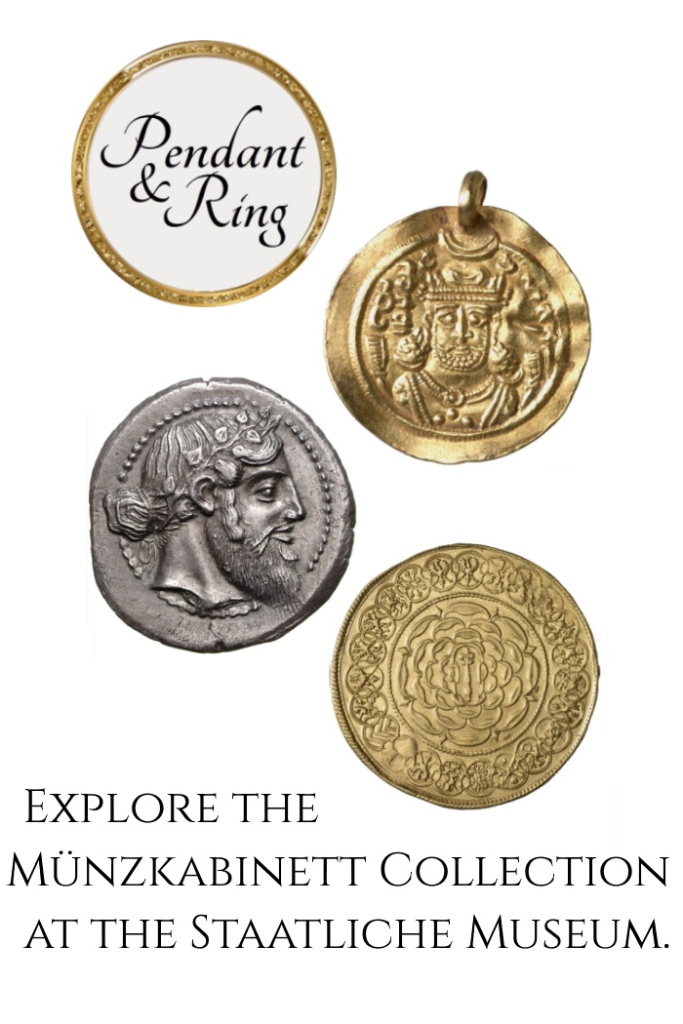 Coin Pendant Collectible Coins Museum Collection Pendant and Ring